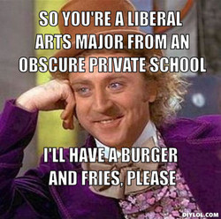 SO YOU'RE A LIBERAL 