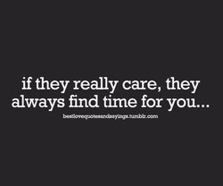 if they really care, they 