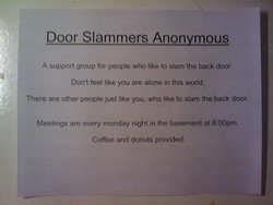 Door Slammers Anonymous 