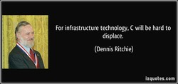 For infrastructure technology, C will be hard to 