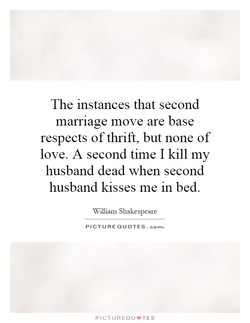 The instances that second 