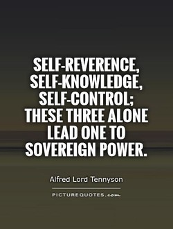 SELF-REVERENCE, 