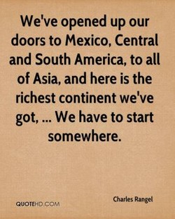 We've opened up our 