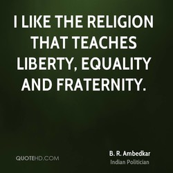 I LIKE THE RELIGION 