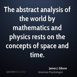 The abstract analysis of 