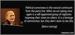 Political correctness is the natural continuum 