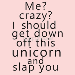 crazy? 