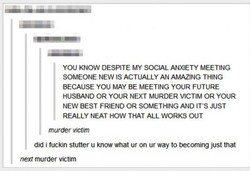 you KNOW DESPITE MY SOCIAL ANXIETY MEETING 
