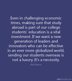 Even in challenging economic 