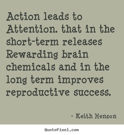 Action leads to 