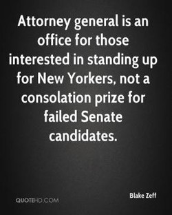 Attorney general is an 