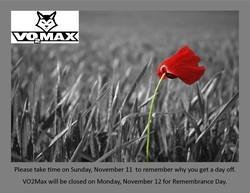 Please take time on Sunday, November 11 to remember why you get a day off. 