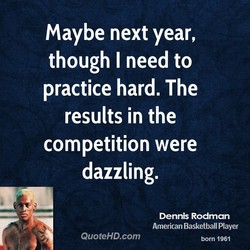 maybe next year, 