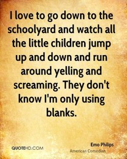 I love to go down to the 