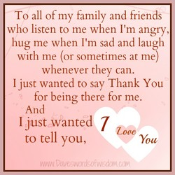 To all of my family and friends 