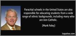 Parochial schools in the United States are also 