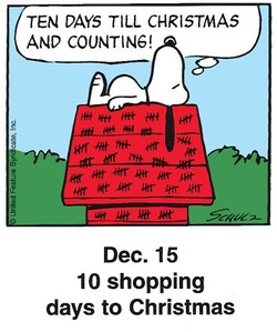 TEN DAYS TILL CHRISTMAS 