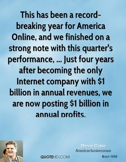 This has been a record- 