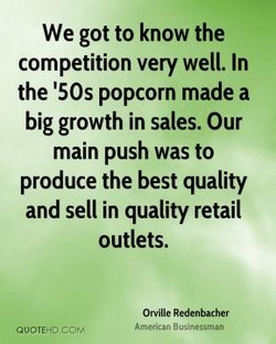 We got to know the 