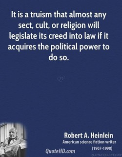 It is a truism that almost any 
