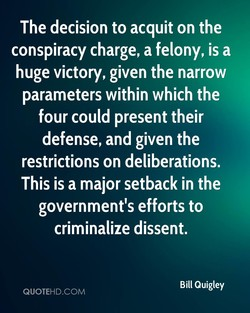 The decision to acquit on the 
