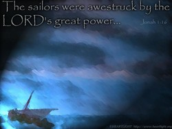 e sailors were awestruc k by the LORD is great power... Jonah I OHFARTLIGHT http•.//wtvw.heartlight.org