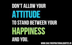 DON'T ALLOW YOUR 