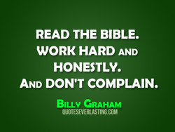 READ THE BIBLE, 