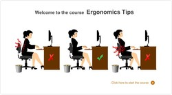 Welcome to the course Ergonomics Tips 