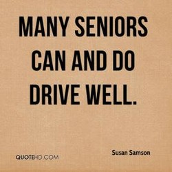 MANY SENIORS 