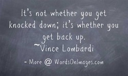 It's not whether you yet