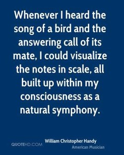 Whenever I heard the 