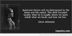America's future will be determined by the 