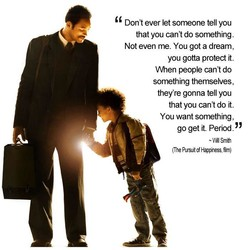 Don't ever let someone tell you 