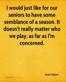 I would just like for our 