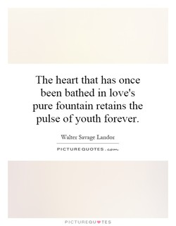 The heart that has once 