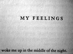 MY FEELINGS 