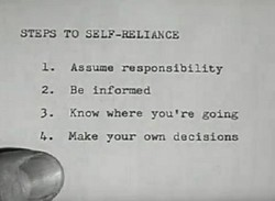 STEPS TO SELF-ELIANCE 