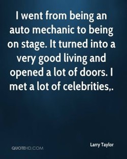 I went from being an 