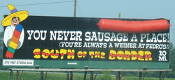 YOU NEVER SAUSAGE 