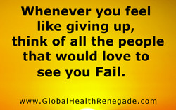 Whenever you feel 