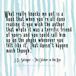 What really knocks me out is a 