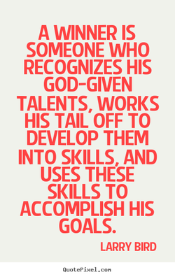 A WINNER IS 