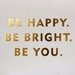 HAPPY. 