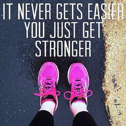 IT NEVER GETS 