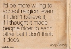 lld be more willing to 