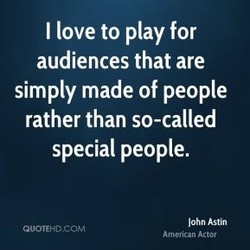 I love to play for 