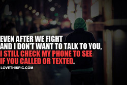 EVEN AFTER WE FIGHT 
