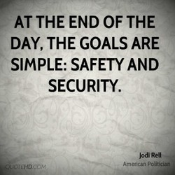 AT THE END OF THE 