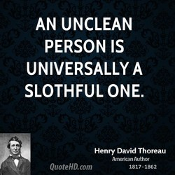 AN UNCLEAN 